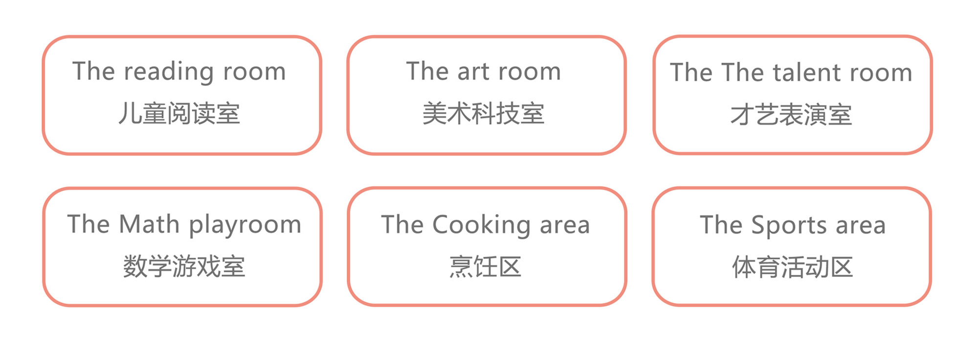六个教室组合